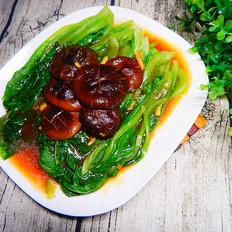 香菇蚝油生菜