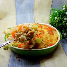 鸡丁焗饭#午饭#