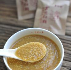 红糖小米粥