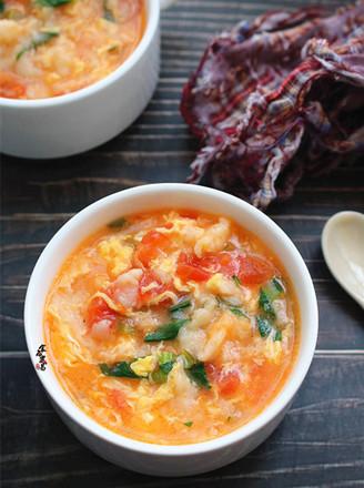 番茄鸡蛋疙瘩面的做法