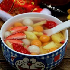 果蔬小汤圆