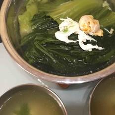 咸蛋芥菜清汤的做法大全