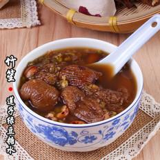 广东甜饮品-竹笙莲子绿豆糖水