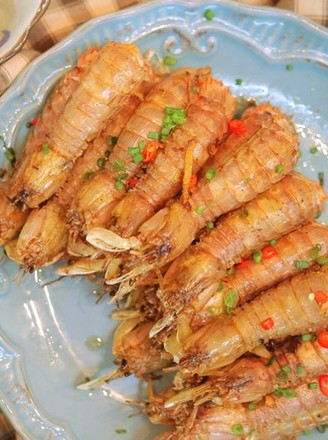 椒盐皮皮虾的做法