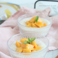 芒果牛奶燕麦西米露
