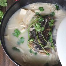 鱼头豆腐汤(九阳轻奢炒锅)