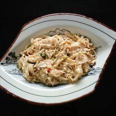 豆腐衣拌金针菇