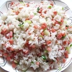 火腿炒米饭