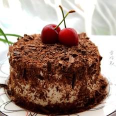 樱桃巧克力奶油蛋糕