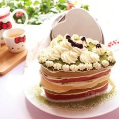 心形奶油蛋糕