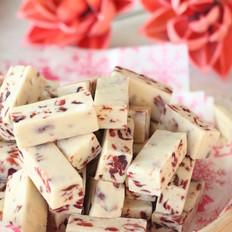 好吃的蔓越莓牛轧糖