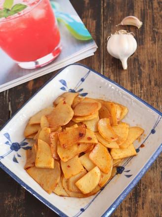 香辣土豆片的做法