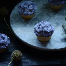 玫瑰花巧克力奶油蛋糕