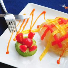 番茄鸡蛋扒锅巴