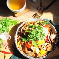 干锅三黄鸡