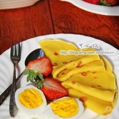 鸡蛋饼&菠菜饼