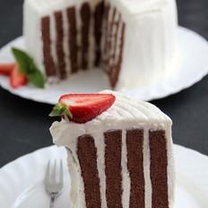 巧克力年轮蛋糕