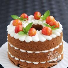巧克力贝印裸蛋糕