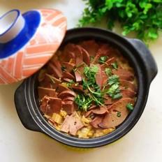 砂锅白菜炖羊肝