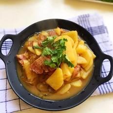 土豆牛肉炖粉条
