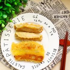 西葫芦猪肉锅贴