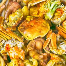 香辣肉蟹煲