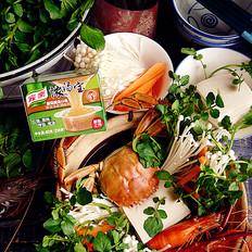 菌菇海鲜火锅