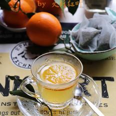 香橙乌龙热茶