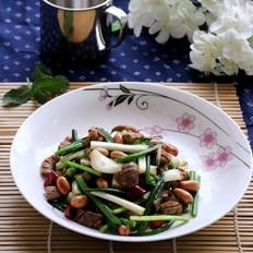 猪腰荞菜小炒