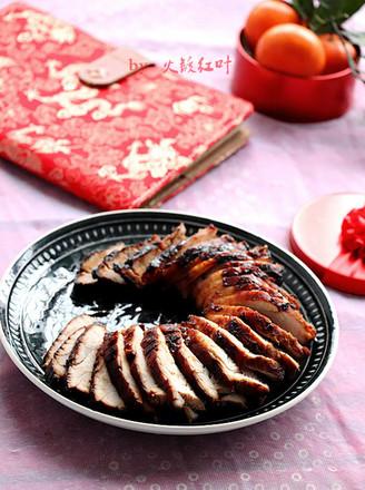 蒜香烤肉的做法