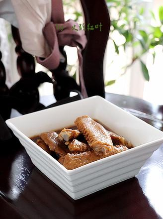 芥辣酱油卤鸭翅的做法