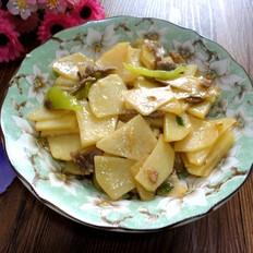 土豆片炒肉