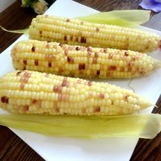 水煮水果玉米
