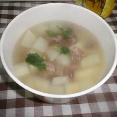 清炖牛肉萝卜汤