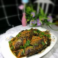 倒笃菜炖鲫鱼