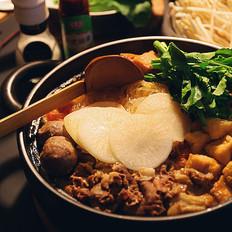 番茄猪骨火锅