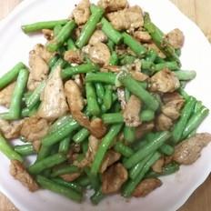 豆角炒肉片的做法[图]