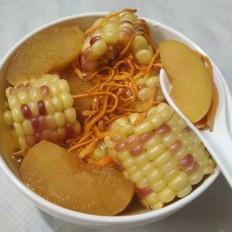 虫草花糥玉米汤
