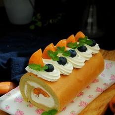 清甜枇杷蛋糕卷