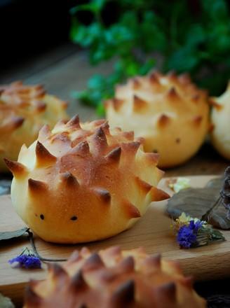 可爱小刺猬面包的做法