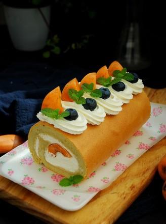 清甜枇杷蛋糕卷的做法