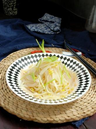 银芽拌魔芋的做法