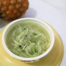 土豆白萝卜汤