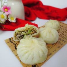 香菇白菜包