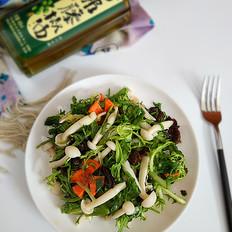 麻油菌菇拌菜
