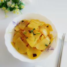 干煸土豆片