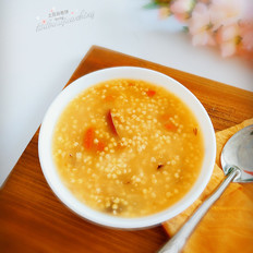 黄米红枣粥