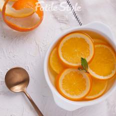 冰糖蒸橙子