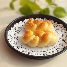 一股辫子面包