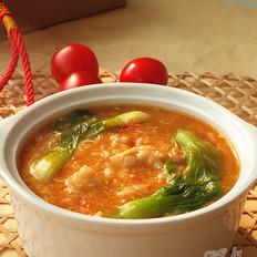 番茄疙瘩汤